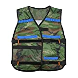 NERF Adjustable Camouflage Tactical Vest