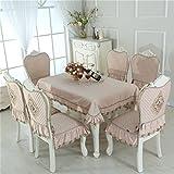 Gewebe Tischdecken, Tischdecke kühlschrank Deckel Handtuch 125 x 125 cm (49 x 49 Zoll)