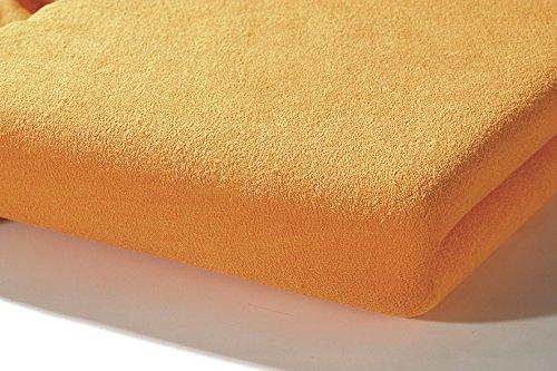Preisvergleich Produktbild Alvi 93527 Spannbettlaken apricot