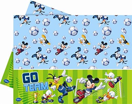 schdecke, Micky Maus und Fußball, 1,8 x 1,2m ()