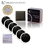 VeloChampion Puncture Repair Patches Autoadhesivo Pack de 6