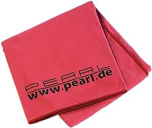 pearl microfibre absorbant serviette de bain 180 x 90 cm rouge cuisine maison. Black Bedroom Furniture Sets. Home Design Ideas