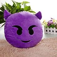 Emoji Pillow - Devil