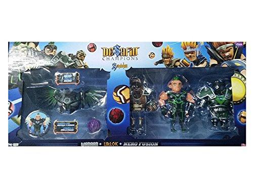 SIMBA - Figura Sendokai con 3 armaduras