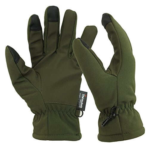 Mil-Tec Softshell Handschuhe ThinsulateTM Oliv Gr.M
