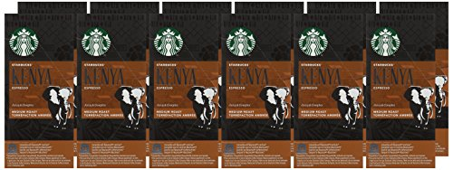 Starbucks Compatible Espresso Kenya Capsules (Pack of 12, Total 120)