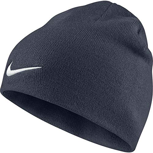 reputable site edfc4 8b74c Nike Men s Team Performance Beanie, Obsidian White, One size