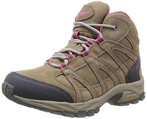 Hi-Tec Alto Mid Wp, Chaussures de randonnée tige haute femme Beige (Dune/Pink)