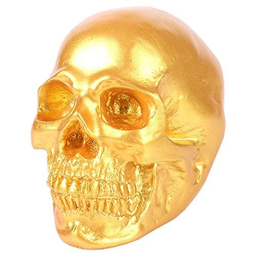 chliches Schädel-Skelett wissenschaftliche Harz-Replik-Modell-medizinische anatomische Spur, die medizinische Skelett-Dekorations-Statue unterrichtet ()