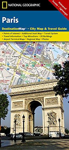 Paris: Destination City Maps (National Geographic Destination City Map) por National Geographic