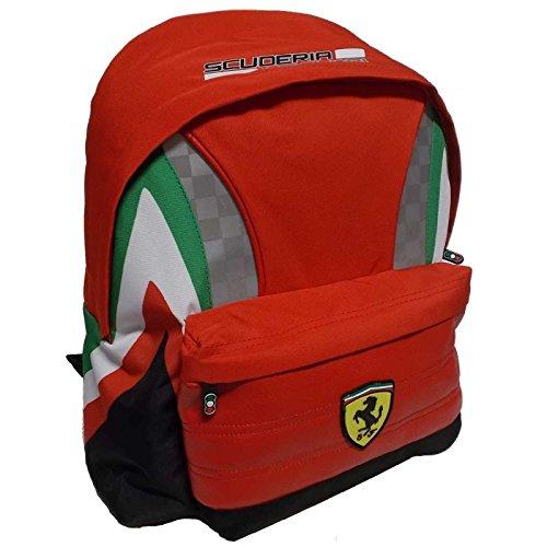 Mochila Americano Ferrari Kids Original 40x 30x 10cm