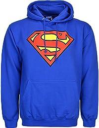 Superman-Veste polaire à capuche avec Logo Big avant