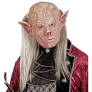 WIDMANN vd-wdm05401Máscara vampiro con pelo, talla única