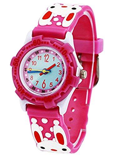 montre-pedagogique-pour-enfant-fille-quartz-cadran-blanc-avec-bracelet-caoutchouc-3d-motif-rouge-lap