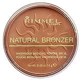 Rimmel London Natural Bronzer, 023 Sun Glow, 14 g
