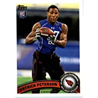 2011 Topps Football Card # 267 Patrick Peterson RC - Arizona Cardinals (RC - Rookie Card) NFL Trading Card