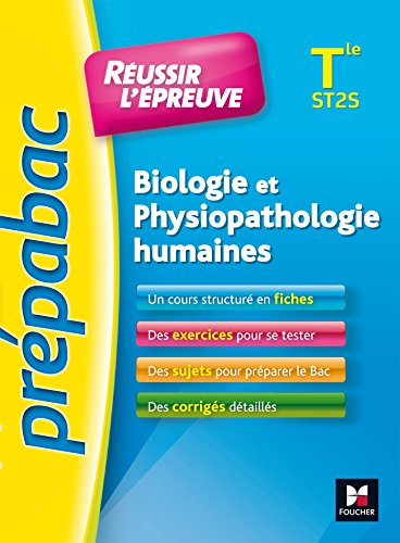 PREPABAC - Biologie et physiopathologie humaines Terminale ST2S - Nº1