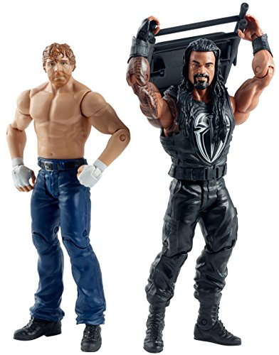 Figur WWE Battle Pack Serie Roman Reigns & Dean Ambrose Summerslam