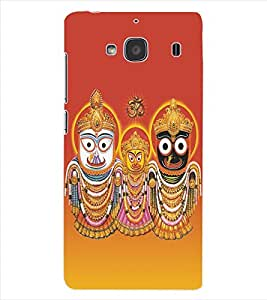ColourCraft Lord Jagannath Back Case Cover for XIAOMI REDMI 2S