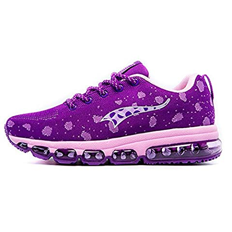 Onemix Men's And Women's Air Cushion Knit Walking Trainers Fitness Sports Running Shoes Casual Shoes