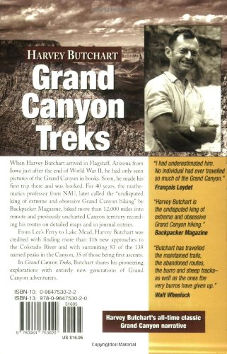 Grand Canyon Treks: 12,000 Miles Through the Grand Canyon