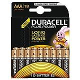 Duracell Plus Power Type AAA Alkaline Batteries, pack of 18