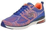 Skechers Skech Air Infinity Rapid Fire Herren Sneaker Fitness Schuhe Blau, Schuhgröße:EUR 42