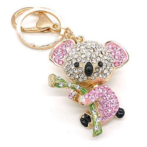 Cooplay - Adorable llavero dorado koala