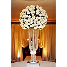 Centro de mesa de cristal acrílico para bodas, 10 piezas