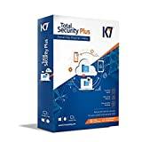 #9: K7 Total Security Plus Multi Device Latest Version 4 PC & 1 Mobile or 1 Tablet 1 Year