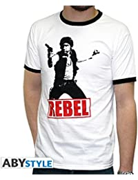 Star Wars T-Shirt Han Solo Rebel Size S