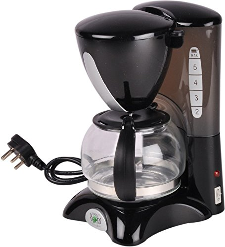 Maple MAF5 6 Cups Coffee Maker(Black)