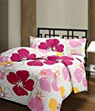 Plush Home Pink Flowers Ac Blanket (Mate...