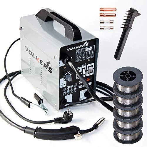 KFZ Schweißgerät (No GAS) MIG 100 60-105 A 5,45 kg Fülldraht Schweißbrenner