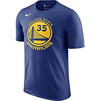 Nike NBA Golden State Warriors Kevin Durant 35 KD 2017 2018 Icon Edition Official Name & Number, Camiseta de Niño