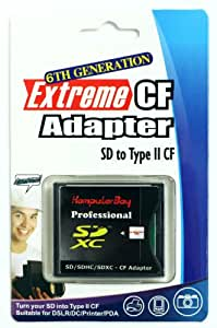 Komputerbay Adapter CF SDXC / SDHC / SD to CF Adaptor