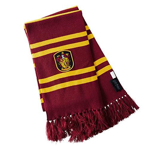 Harry Potter Gryffindor Schal 170cm Elbenwald gelb rot (Quidditch Kostüm Slytherin)