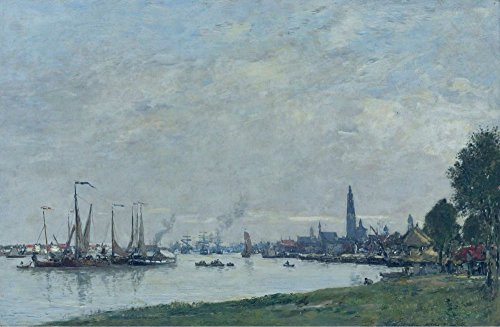 Das Museum Outlet - Anvers, der Hafen, View to the North Zitadelle, 1971 - Poster Print Online kaufen (76,2 x 101,6 cm)