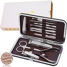 Set portatile manicure professionale di AsaVea® per uomini e donne