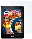 2 x atFoliX Panzerfolie Amazn Kindl Voyage Folie - FX-Shock-Clear ultraklar und stoßabsorbierend