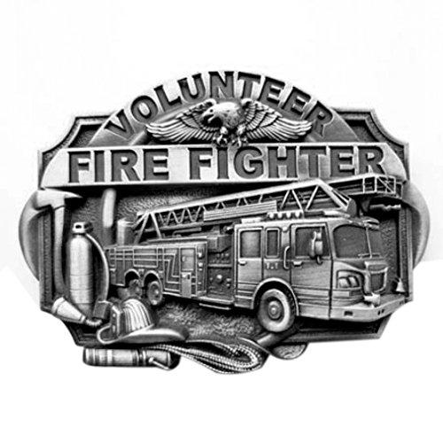 Buckle Freiwillige Feuerwehr, Firefighter, Gürtelschnalle - Gürtelschnalle Firefighter