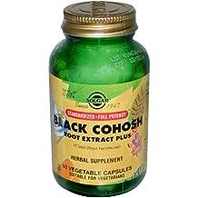 Black Cohosh + Isoflavonas de Soja de Solgar - 60 cápsulas vegetales