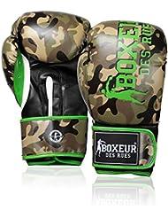 Boxeur Des Rues Fight Activewear Guantes de boxeo marrón Fluo/Camouflage Talla:10 Oz