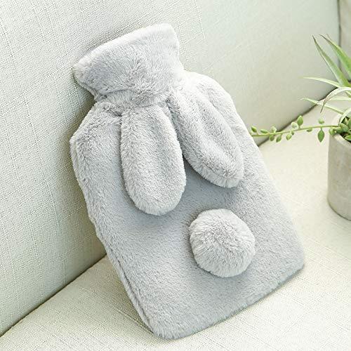 mini - warme hand schatz, silicagel wassereinspritzung wärmeflasche, transparenten klassischen gummi wärmflasche und aus -,ash Ash Fleece