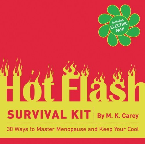 The Hot Flash Survival Kit: 30 Ways to Master Menopause and Keep Your Cool by Carey (2006) Cards