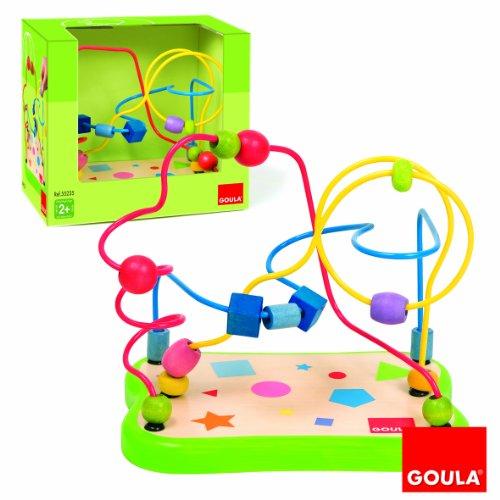 Goula - 55235 - Jouet Premier Age - Labyrinthe Formes Géométriques.