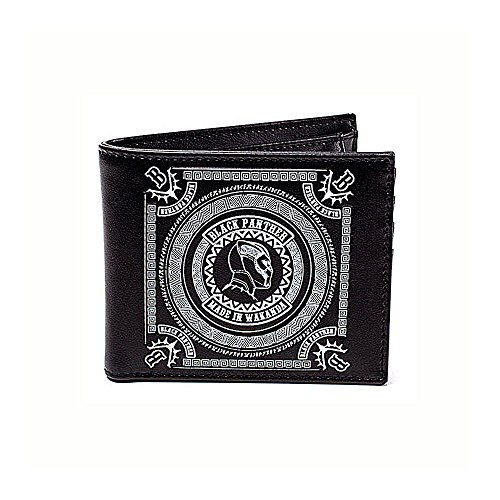 You'll want to keep your money and cards safe in this awesome officially licensed wallet which has an 'Made in Wakanda' motif from Black Panther. Made from PU and Polyester materials for excellent durability and long life, with professional stitching...