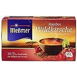 Meßmer Rooibos Wildkirsche fruchtig-mild, 20 Beutel, 40 g