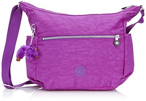aa4f4b1ec Kipling Alenya - Bolso, Mujer, Multicolor(Purple Dahlia), Talla única