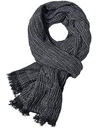 Topdo Écharpe en Cachemire de la Mode des Hommes écharpe Foulards Chauds  d automne et 233b1d02b7a